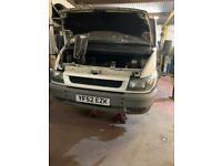 Ford Transit 2.2 (52) REG, Spares Repairs needs wielding
