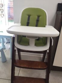 OXO TOT green high chair