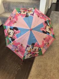Minnie Mouse umbrella kids