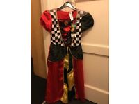 Disney queen of hearts dress new with tags