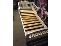 White kids bed for sale