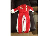 Babys Italian Formula One Outfit