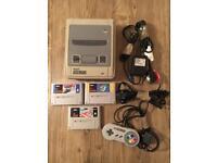 Super Nintendo (SNES) Console Games Bundle