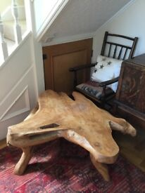 Ornamental coffee table