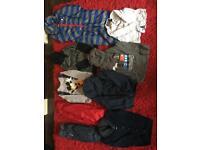 Bundle of boys cloths size 4-5 5-6