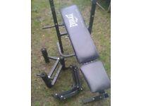 Everlast weights bench