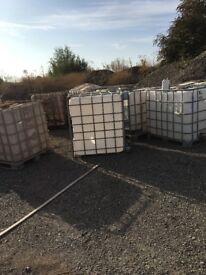 1000 litre IBC tanks