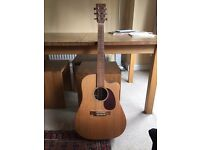 Martin DCX1E Acoustic Electric Dreadnought Guitar - solid spruce top