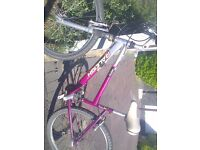 "Girls ladies small framed Raleigh Minx 26"" wheel 18 Shimano speed geared mountain trial town bike"