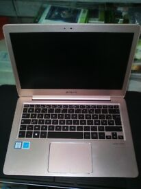 "ASUS ZenBook UX330U, Intel Core i5-6200U, 8GB RAM, 256GB SSD, 13.3"" Laptop Gold"