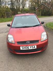 Ford Fiesta style 1.2 petrol 06 plate