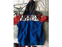 Napapijri fleece jacket size Large mens
