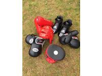 Kick boxing equipment