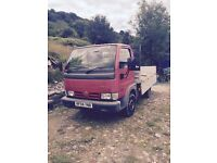 Nissan cabstar dropside tipper 2004