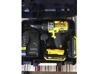cordless stanley drill