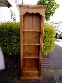 Tall Pine Shelves Bookcase (Reduced)