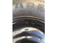 Ford Spare Wheel - Pirelli Tyre - 125/80 R - Unused