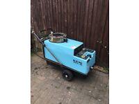 Nilfisk diesel heated jetwash/pressure washer for spares or repair