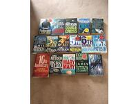 Set of James Patterson books