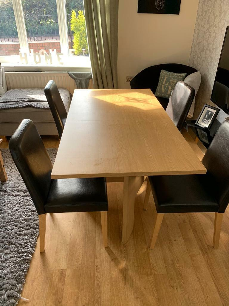 Next Folding Dining Table & Chairs   in Greenside, Tyne ...