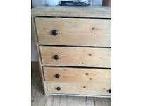 Large Traditional Pine Chest