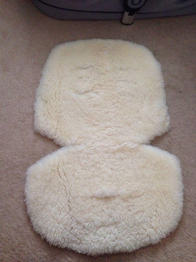 Sheep skin for pram John Lewis