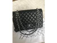 Real leather Chanel Jumbo bag
