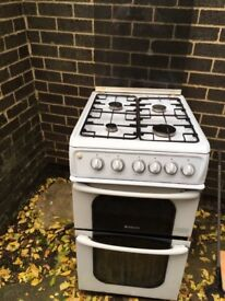 Hotpoint gas cooker 3 years old checked every year , usual wear and tear but well loved grill/oven