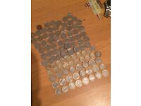 50p £1 £2 COLLECTION (100-110 in English money)