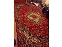 Traditional persian oriental rug 5.9 X 9.2 (157x274cm)