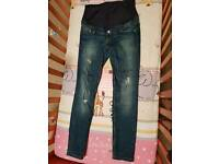 H&M maternity jeans- size 12