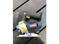Ryobi one+ 18volt cordless jigsaw with laser guide PWO can be tested bare tool no battery saw