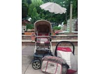Jeep Shopper pushchair- REDUCED TO CLEAR!!(Stroller, car seat, changing bag & etc)