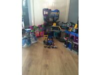 Imaginext Batcave and other Imaginext toys.