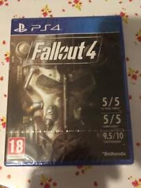 PS4 game fallout 4 brand new