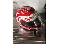 Nitro motorcycle motorbike helmet size s
