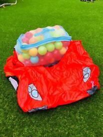 Cars lightening McQueen ball pit