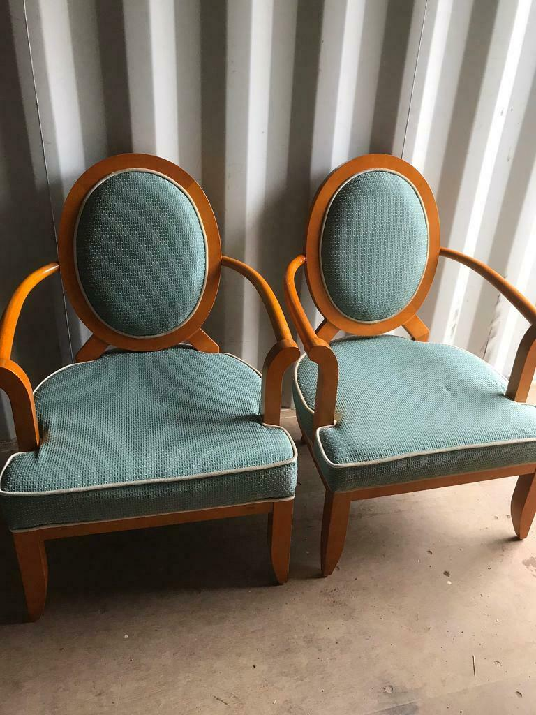 Pair extra wide armchairs (can deliver) | in Norwich ...
