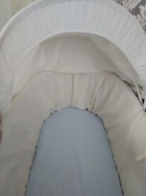 Baby Moses basket with stand