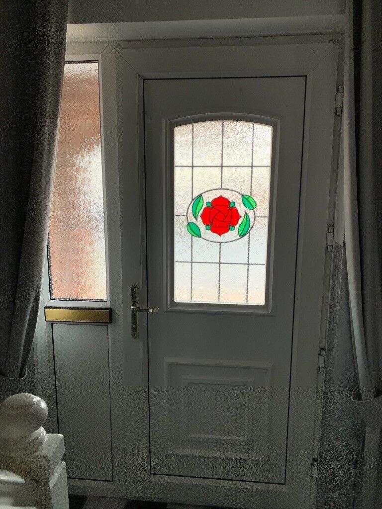 Double Glazing Front Door With Frame