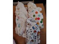 Newborn, up to 1 month, small baby and first size baby girl clothes