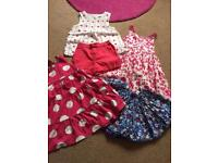 Girls age 2-3 outfits. Mothercare and M and S