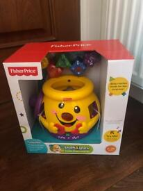Brand New Fisher Price Cookie Jar
