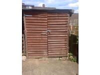 2 sheds 8x6