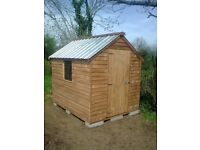 Top quality 8ft x 6ft Overlap Garden Shed Only £320 delivered and set up in N.I