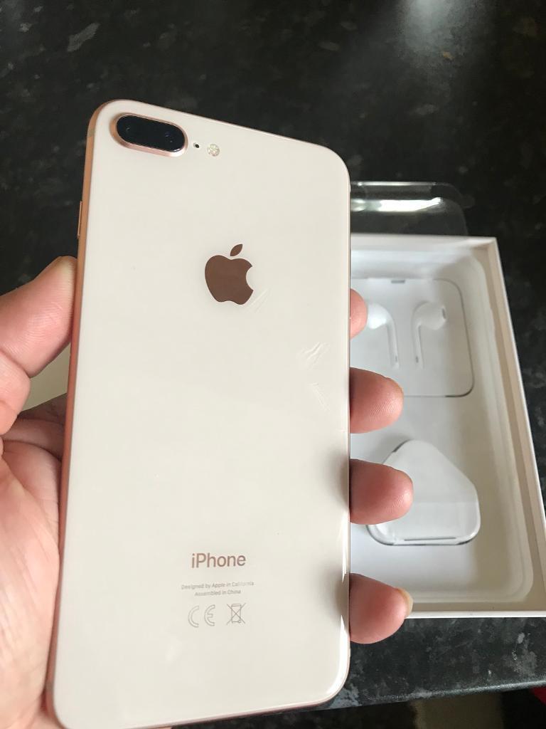 IPhone 8 Plus 256GB In Rose Gold