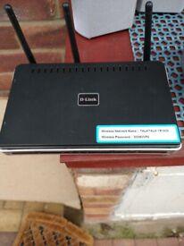 D Link broadband router