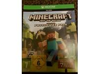 Minecraft xbox one game