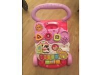 Vtech Pink Baby Walker - No Phone!