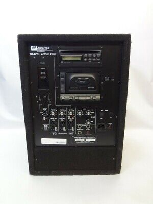 AmpliVox SW905 Wireless Travel Audio Pro Stereo Amplifier *AS IS See Notes*
